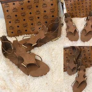 Aldo Tan Strap Sandals